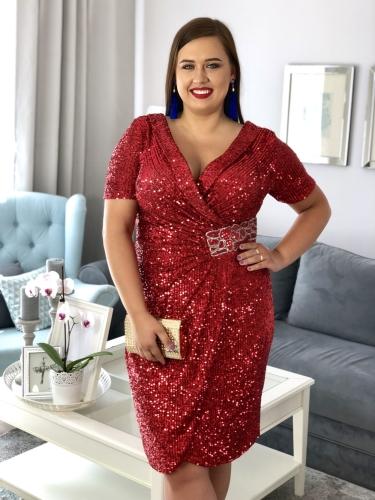 Sukienki karnawałowe XXL dla puszystych Sukienki